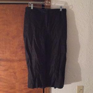 High-Waisted Wide-Leg Crop Pant